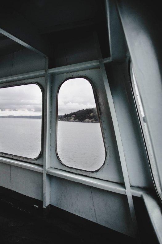 pacific northwest ferry, island ferry, ocean, island, ferry @livingless.wordpress.com